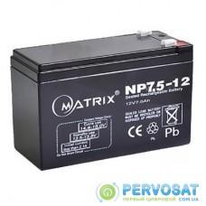 Батарея к ИБП Matrix 12V 7.5AH (NP7.5_12)