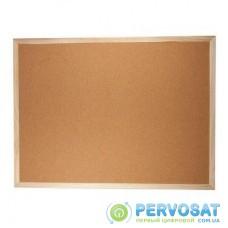 Офисная доска BUROMAX JOBMAX corky, 45x60см, fabrikoid frame (BM.0013)