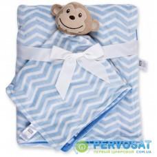 Детское одеяло Luvable Friends в комплекте с салфеткой для мальчиков (50446.BP.M)