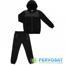 Спортивный костюм A-Yugi на молнии (4303-176B-black)