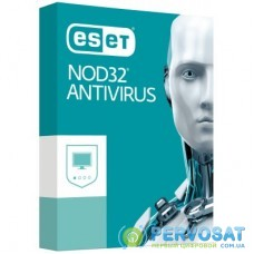 Антивирус ESET NOD32 Antivirus для 12 ПК, лицензия на 1year (16_12_1)