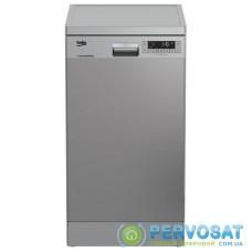 Окремо встановлювана посудомийна машина Beko DFS26025X - 45 см./10 компл./6 програм/А++/сірий