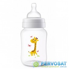 Бутылочка для кормления Philips AVENT Anti-colic с декором Жираф 260 мл (SCF821/12)