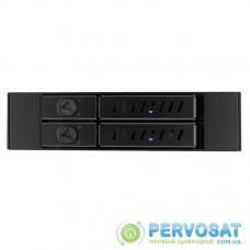 """Відсік для накопичувача CHIEFTEC Backplane CMR-225, 2x2.5"""" HDD/SSD,1x3.5"""" EXT Slot,SATA,чорний,RETAIL"""
