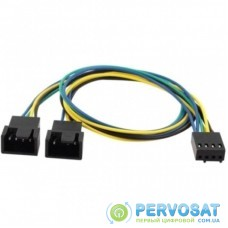 Кабель Cooling Baby 4-pin PWM to 2 x 4-pin PWM Power Y Splitter (CBFA04 - 35)