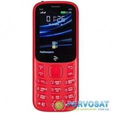 Мобильный телефон 2E E240 2019 Red (680576170019)