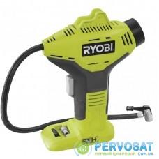 Ryobi Компрессор аккумуляторный ONE+ R18PI-0, 10.3бар/150PSI, 16л/мин,  solo (без АКБ и ЗУ)