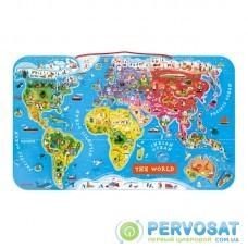 Магнітна карта світу Janod англ.мова J05504