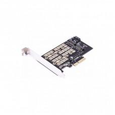 Контроллер AgeStar PCIe 3.0 X2 for SSD M.2 NVMe (AS-MC02)