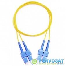 Оптический патчкорд CMS SC/UPC-SC/UPC SingleMode, Duplex, 2м (UPC-2SCSC(SM)D(ON))