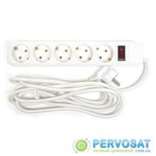 Сетевой фильтр питания PowerPlant 3 м, 5 розеток, евростандарт (JY-1056/3) (PPSA10M30S5B)