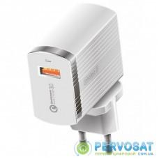Зарядное устройство Intaleo TCQ431 (1USB3A) (white) (1283126481123)