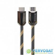 Кабель мультимедийный HDMI to HDMI 2.0m V2.0b Cablexpert (CCBP-HDMIPCC-2M)