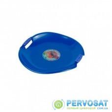 Санки Plastkon ледянка Tornado Super синие (42528)