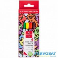 Фломастеры Koh-i-Noor Teenage, 6 цветов, картонная упаковка (771002/6)