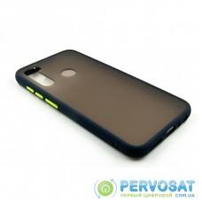 Чехол для моб. телефона Dengos (Matt) для Xiaomi Redmi Note 8, Blue (DG-TPU-MATT-19)