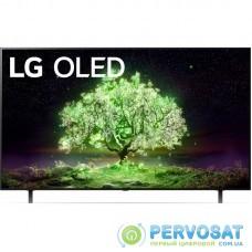 """Телевiзор 65"""" OLED 4K LG OLED65A16LA Smart, WebOS, Чорний"""