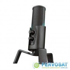 Trust GXT 258 Fyru USB 4-in-1 Streaming Microphone Black