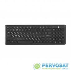 Клавіатура 2E KS230 Slim WL Black