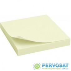 Бумага для заметок Axent with adhesive layer 75x75мм, 100sheets., pastel yellow (2314-01-А)