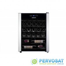 Холодильник для вина ARDESTO WCF-M24, 64.2см, 1 дв., Холод.відд. - 66л, ST, Темп.зон - 1, Чорний