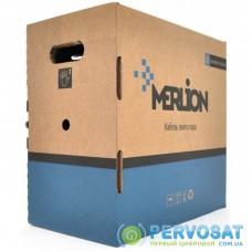 Кабель сетевой Merlion UTP 305м КНП 4*2*0,54, cat.6, внешний [СCA] (10941)