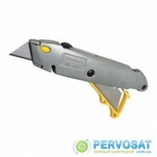 Нож канцелярский Neo Tools 19мм трапициевидное відвижное лезвие 160мм (0-10-499)