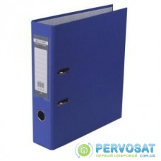 Папка - регистратор BUROMAX А4, 70мм, JOBMAX PP, dark blue, built-up (BM.3011-03c)