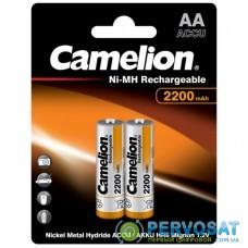 Аккумулятор Camelion AA 2200mAh Ni-MH * 2 R6-2BL (NH-AA2200BP2)