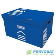 Короб для архивных боксов BUROMAX blue (BM.3270-02)