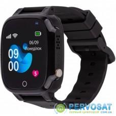 Смарт-часы Amigo GO008 MILKY GPS WIFI Black (873291)