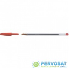 Ручка шариковая Bic Cristal, красная (bc847899)