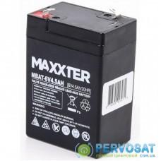Батарея к ИБП Maxxter 6V 4.5AH (MBAT-6V4.5AH)