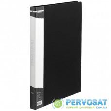 Папка-скоросшиватель BUROMAX А4 black (BM.3407-01)