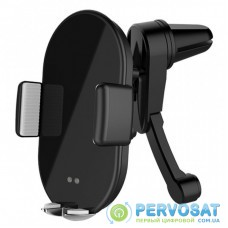 Универсальный автодержатель ColorWay AutoSense Car whith Wireless Charger 10W Black (CW-CHAW026Q-BK)