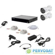 Комплект видеонаблюдения Tecsar Tecsar QHD 2MP2CAM (12015)