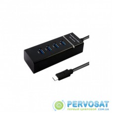 Концентратор Maiwo USB Type-C to 4х USB3.0 cable 29 cm (KH303)