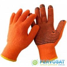 Защитные перчатки WERK ХБ ор., Черная точка (WE2129)