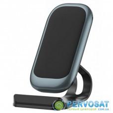 Зарядное устройство ColorWay Wireless Stand 10W Blue (CW-CHW30Q-BL)
