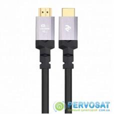 Кабель мультимедийный HDMI to HDMI 1.8m v.2.1 2E (2EW-1143-1.8M)