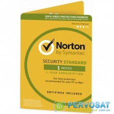 Антивирус Norton by Symantec NORTON SECURITY STANDARD 3 Year 1 Device ESD key (21390899)