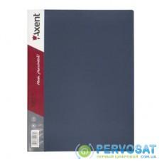 Папка с файлами Axent 30 sheet protectors, gray (1030-03-А)