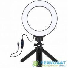 """Набор блогера Puluz Ring USB LED lamp PKT3059B 6.2"""" + table tripod (PKT3059B)"""