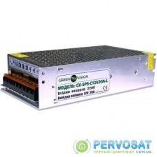 Блок питания GreenVision GV-SPS-C 12V20A-L (3451)