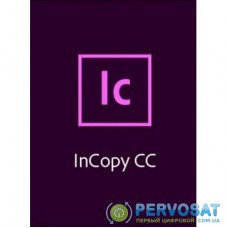 ПО для работы с текстом Adobe InCopy CC teams Multiple/Multi Lang Lic Subs New 1Year (65297670BA01A12)