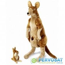 Мягкая игрушка Melissa&Doug Плюшевые мама и ребенок кенгуру (MD8834)