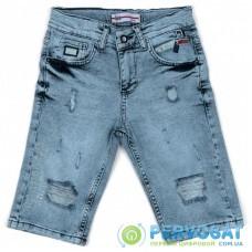 Шорты A-Yugi джинсовые (5260-152B-blue)