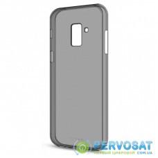 Чехол для моб. телефона MakeFuture Air Case (Clear TPU) Samsung A8 2018 Black (MCA-SA818BK)