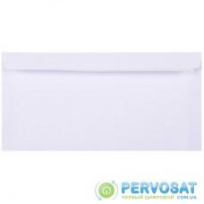 Конверт КУВЕРТ DL (110х220мм) white, Peel & Seal, 50шт (2052_50)