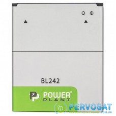 Аккумуляторная батарея для телефона PowerPlant Lenovo Vibe C (A2020) (BL242) 2300mAh (SM130238)